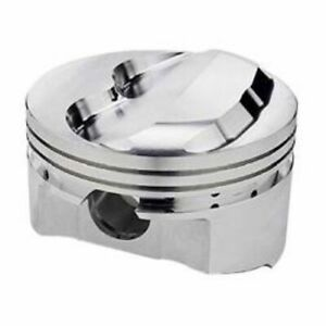 Srp 140345 Forged Dome Pistons 4 040 bore Set Of 8 For Small Block Chevy 350 400