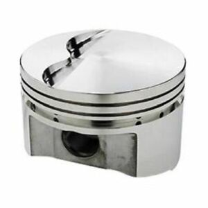 Srp 231308 Flat Forged Pistons 4 125 Bore Set Of 8 For Chevy Small Block 350 400