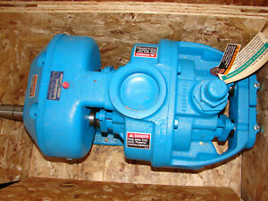 New nos Tuthill 3a di 3in Iron Rotary Lobe Process Pump
