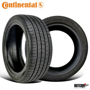 2 X New Continental Procontact Mo 205 55r16 91h Tire