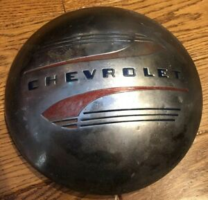 Vintage 1941 1948 Chevrolet Chevy Cars Hubcap Free Shipping