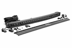 Rough Country 30 Single Row Curved Led Light Bar Cree 12 000 Lumens
