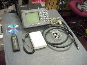 Anritsu S331c Site Master Cable And Antenna Analyzer 25mhz To 4ghz