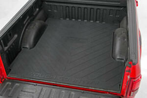 Rough Country Rubber Bed Mat Fits 2017 2020 Ford Sd F250 F350 6 9 Ft Bed