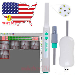 Dental Intraoral Intra Oral Camera Usb2 0 Sony Ccd 4 Mega Pixels Endoscope 1080p