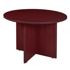Regency Legacy Round Conference Table In Mahogany