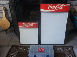 Origanal Pair Of Coca cola Menu Boards W 3 4 Size Letters numbers