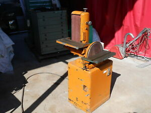 Powermatic Combination 12 Disk And 6x48 Belt Sander Nt Delta See Video