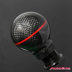 genuine Autoexe Carbon Fibre Manual Gear Shift Knob Mazdaspeed3 Mps Bl3p Bl3fw