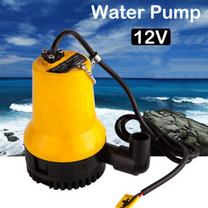 Dc 12v 50w Submersible Water Pump Clean Clear Dirty Pool Pond Flood New Us