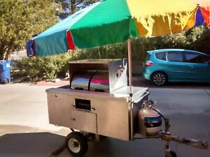 2 8 X 4 9 Hot Dog Food Vending Cart For Sale In Arizona