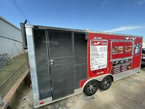 2015 Wow Cargo 8 5 X 20 Bbq Concession Trailer W Porch For Sale In Oklahoma