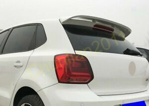 Factory Style Rear Spoiler Wing For 2011 2017 Volkswagen Polo Hatchback Unpaint