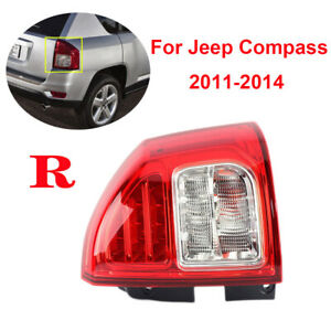 For Jeep Compass 2011 2013 Rh Right Passenger Side Tail Light Rear Lamp Assembly