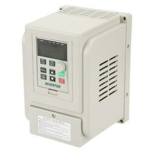 4kw 220v Variable Frequency Drive Inverter Cnc Vfd Vsd Single To 3 Phase Motor