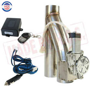 3 Inch Electric Exhaust Downpipe Cutout E Cut Out Valve Controller Remote Kit