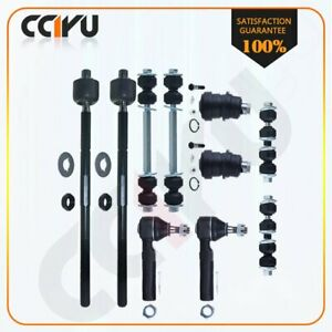 10 Suspension Parts Ball Joint Tie Rod Ends Sway Bar For 00 02 2003 Dodge Neon