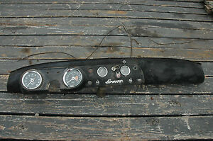 Mg Midget Sprite Steel Metal Dash Board With Instruments And Switches