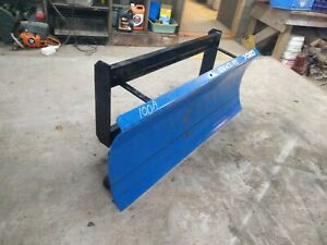 60 New Holland Skidsteer Snowplow Skid Steer Snow Plow Pusher 5 Tractor
