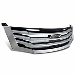 For 2008 2010 Honda Accord Ex Lx 4 Dr Chrome Horizontal Front Hood Grille Grill