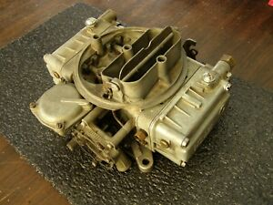Oem Ford 1957 Fairlane Thunderbird Holley 4v Carburetor 312ci Automatic
