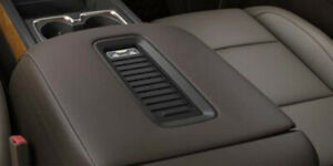 Fits 14 18 Chevy Silverado sierra Cocoa Leather Center Console Lid Armrest Cover