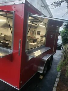 Never Used 2019 7 X 16 Snapper Food Concession Trailer mobile Kitchen Unit For