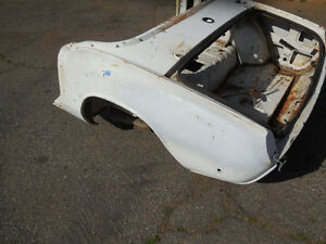 Triumph Spitfire Early Rear Body Section tub Section Rear Clip