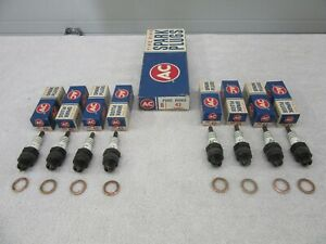 Nos 1961 1964 1967 1968 Camaro Olds Ac 43 fire Ring Spark Plugs 5569857 Dp1