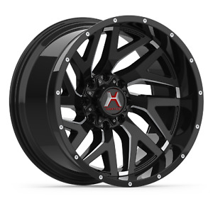 Hartes Metal Stealth Wheels 22x12 Inch 6x139 7 Et 44 For Toyota Fj Cruiser T100
