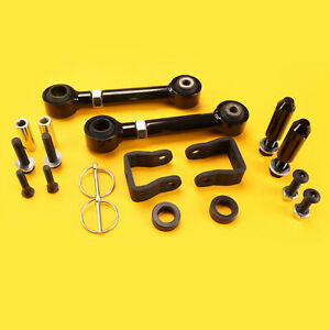 Front Quick Sway Bar Disconnect 2 3 5 Lift Kit Jeep Cherokee Xj 84 01