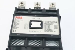 Abb Eh 450 Contactor 550 Amps 3 Pole Good Condition