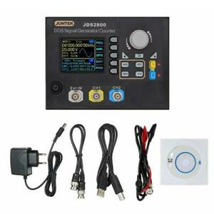 Dds 2channel Signal Generator Counter Frequency Meter Arbitrary 15mhz Jds2800 Eu