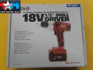 Matco Infinium Mcl1812dd 18 Volt 1 2 Drill Driver New Battery Not Included