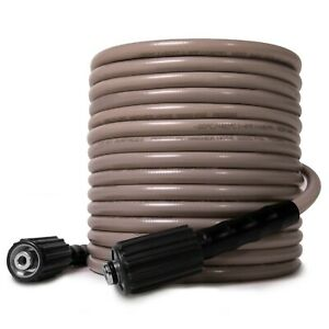 Peggas 3200 Psi 50ft X 1 4 Inch Pressure Washer Hose Kink Resistant M22