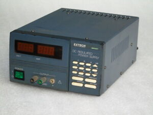 Extech 382207 Dc Regulated Programmable Power Supply 110 220vac Pc Interface