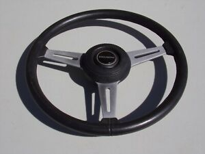 Original Triumph Tr6 Steering Wheel Later Model Years 15 In Very Good Shape