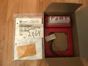 Simplex 4903 9101 Strobe Wall Mount Without Horn Fire Alarm