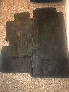 2004 2008 Acura Tl Full Set Oem All Weather Rubber Floor Mats final Price