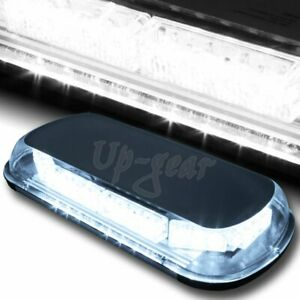 Universal White 34 Led Roof Top Emergency Hazard Warning Flash Strobe Light