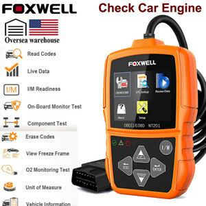 Foxwell Eobd Obd2 Scanner Automotive Code Reader Fault Engine Diagnostic Tool