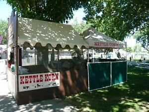 Successful Turnkey Kettle Corn Business With A 6 X 12 Wells Cargo Trailer For