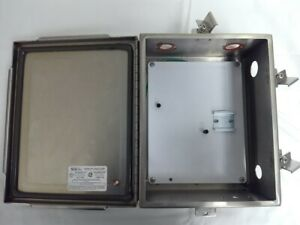Saginaw Control Electrical Enclosure Sce 10 x8 x4 Stainless Sce 1008chnfss