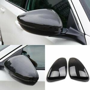Carbon Fiber Side Rearview Mirror Cover Moulding Trim For Honda Accord 2018 2019