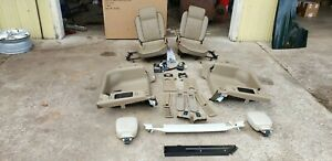 Land Rover Discovery 2 99 04 Jump Seats W Hardware Tan Interior W O Rear Air