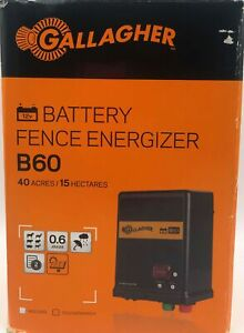 Gallagher Battery Fence Charger B60 40 Acres 15 Hectares 644493351500