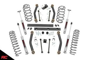 Rough Country 90630 4 Lift Kit W N3 Shocks For 1997 2002 Jeep Wrangler Tj 4wd