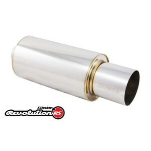 Greddy 11001125 Universal 2 5 Revolution Rs Muffler And Tip