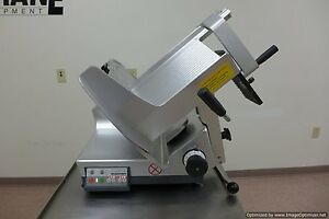 2017 Bizerba Gsp hd Automatic Gravity Meat Cheese Deli Slicer Sharpener Hobart