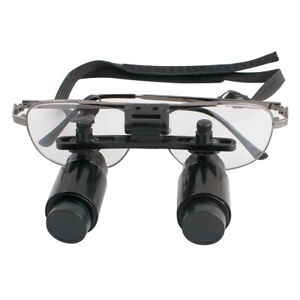 Dental Surgical Binocular Loupes 3 5x300 500mm Medical Magnifier Magnifying Zoom